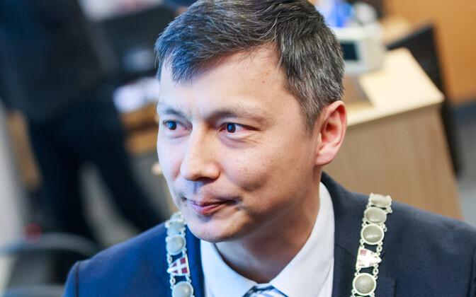 Мэр Таллинна Михаил Кылварт.