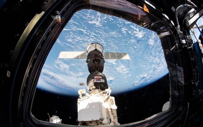 Vaade rahvusvahelisest kosmosejaamast.