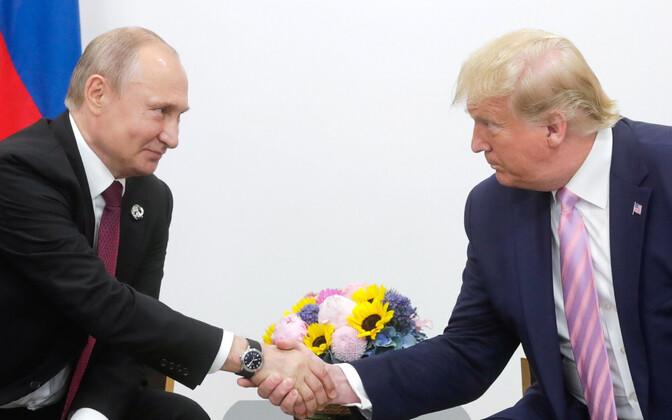 Putin ja Trump Osakas