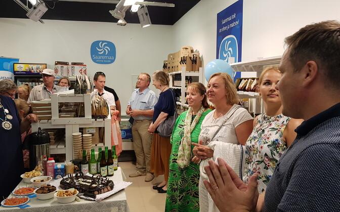 Saaremaa tootjate kauplus avas uksed.