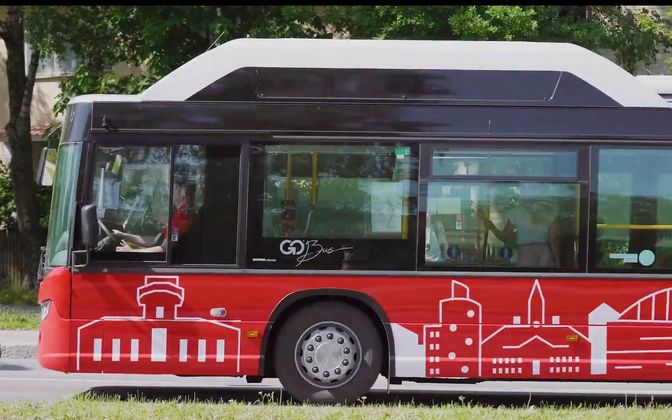 One of the new Tartu city buses