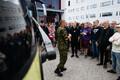 Tallinnas Mustamäel ajateenistusse minekuks kogunenud noored