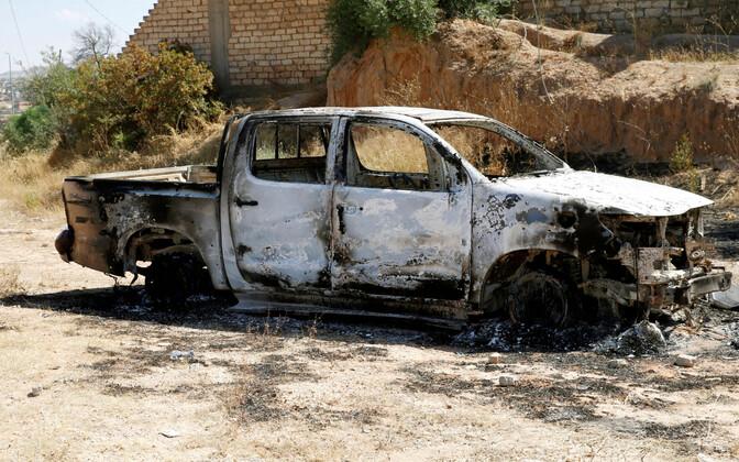 Sõjategevuse tagajärjed Tripoli lähistel.