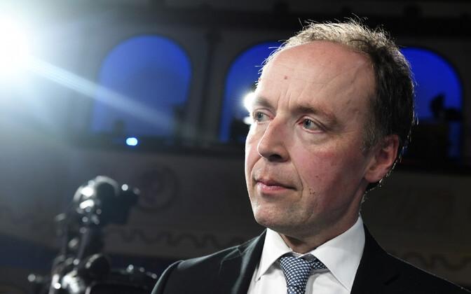 Põlissoomlaste juht Jussi Halla-aho.