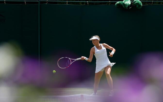 Anett Kontaveit Wimbledonis.