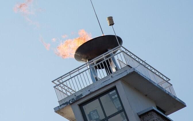 На маяке Певческого поля праздничный огонь будет зажженвечером 6 июля.