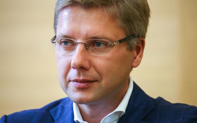 Riia endine linnapea, praegune Euroopa parlamendi saadik Nil Ušakovs.