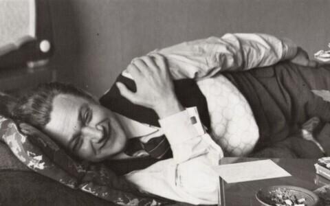 Karl Ristikivi Uppsalas, 1940. aastate teine pool.