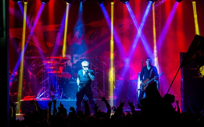 Группа «Алиса» на концерте в Таллинне в сентябре 2018 года.