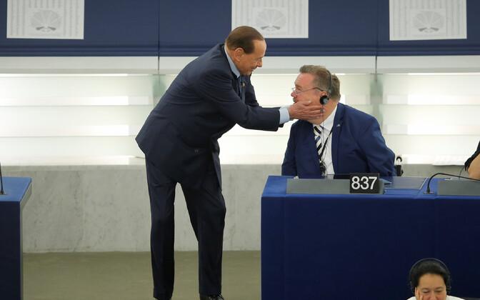 Silvio Berlusconi Euroopa Parlamendis.