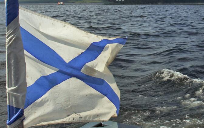 Venemaa mereväe lipp.