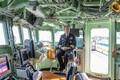 USA sõjalaev Mount Whitney Muuga sadamas.