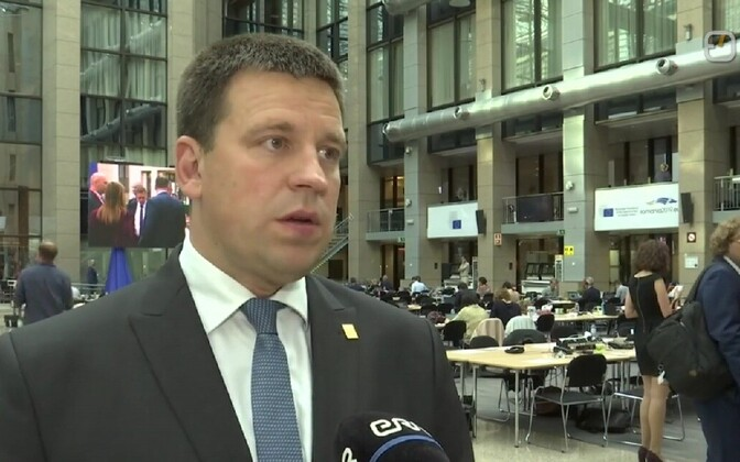 Jüri Ratas in Brussels.