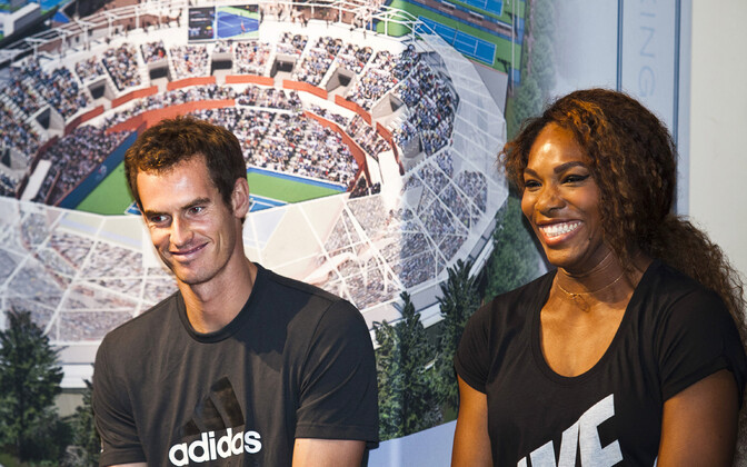 Andy Murray ja Serena Williams 2013. aastal