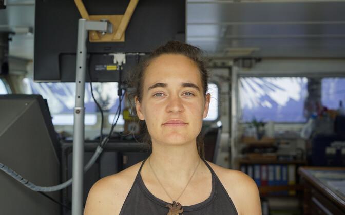 Laeva Sea-Watch 3 kapten Carola Rackete.