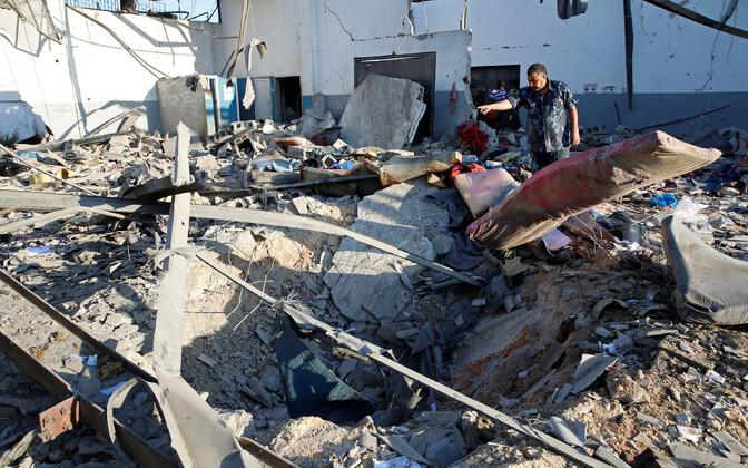 Sündmuskoht Tripoli äärelinnas.