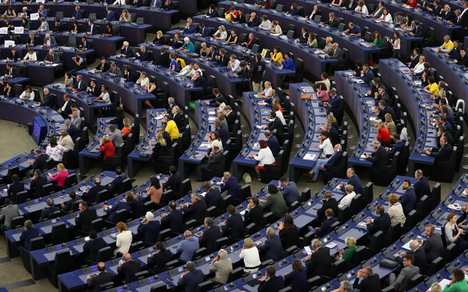 Euroopa Parlament teisipäeval, kui uus koosseis esimest korda kogunes.
