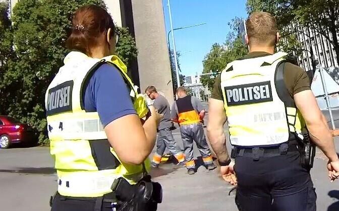 Эстонские полицейские уверяют, что рано или поздно задержат и второго грабителя.