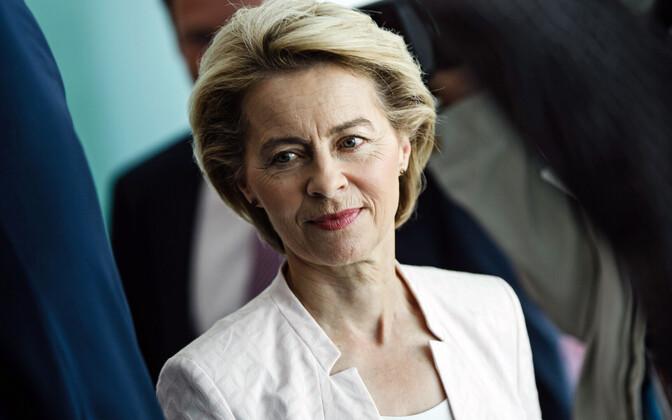 Ursula von der Leyen 3. juulil Berliinis.
