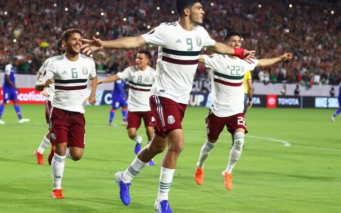 Mehhiko pääses nelja-aastase vaheaja järel Gold Cupi finaali