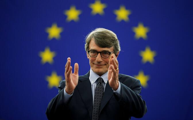Новый президент европарламента Давид Сассоли