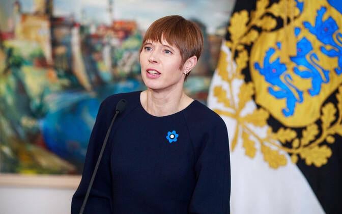Керсти Кальюлайд пообещала работать над укреплением двусторонних отношений.