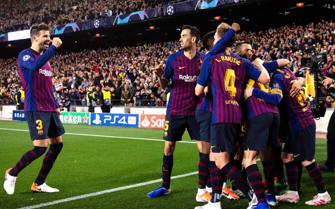 Barcelona jalgpallimeeskond