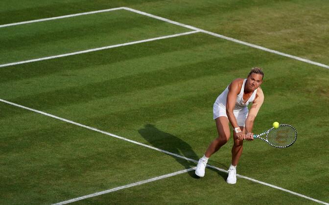 Kaia Kanepi at Wimbledon