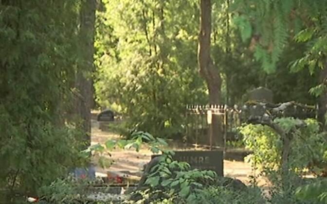 Еврейское кладбище в Таллинне, на котором произошел акт вандализма, не пострадало даже во время нацистской оккупации. Иллюстративная фотография.