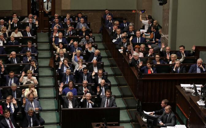 Poola parlament.