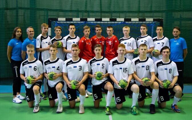 EM-il 23. koha saanud Eesti kuni 17-aastaste noormeeste koondis.