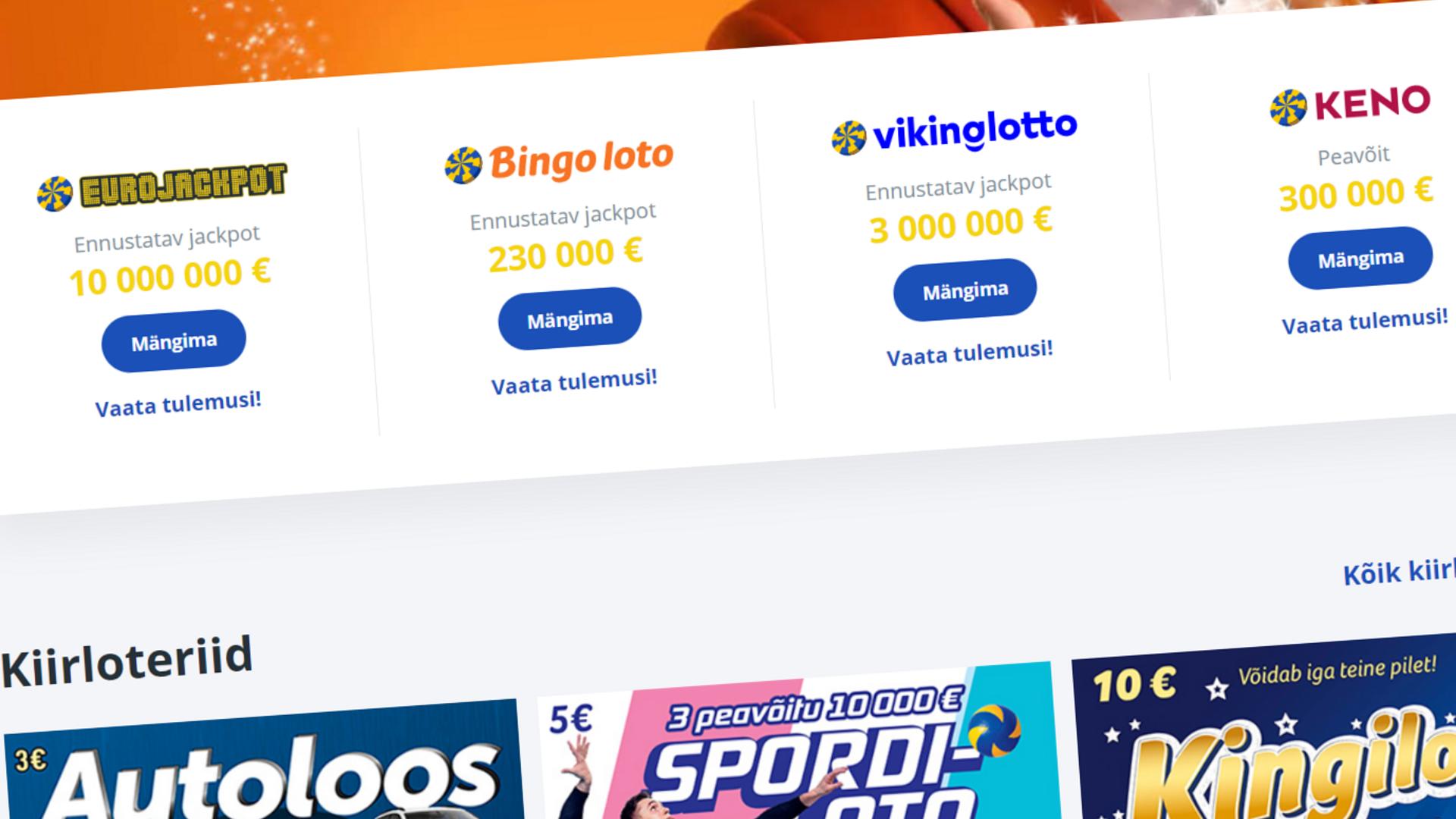 a421bb71dc9 Uueneva Bingo loto mängimine läheb kallimaks | Eesti | ERR