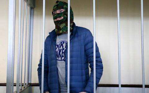 Александр Воробьев в зале суда.