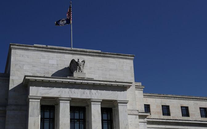 USA keskpanga hoone Washingtonis.