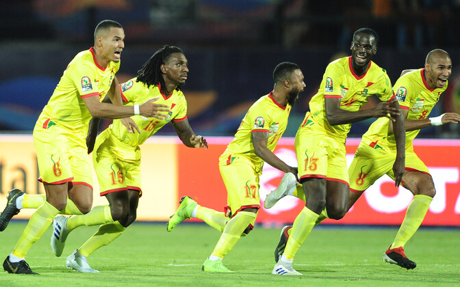 Benini jalgpallikoondislased