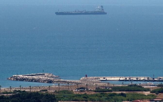 Supertanker Grace 1  Hispaania lõunaranniku lähistel.