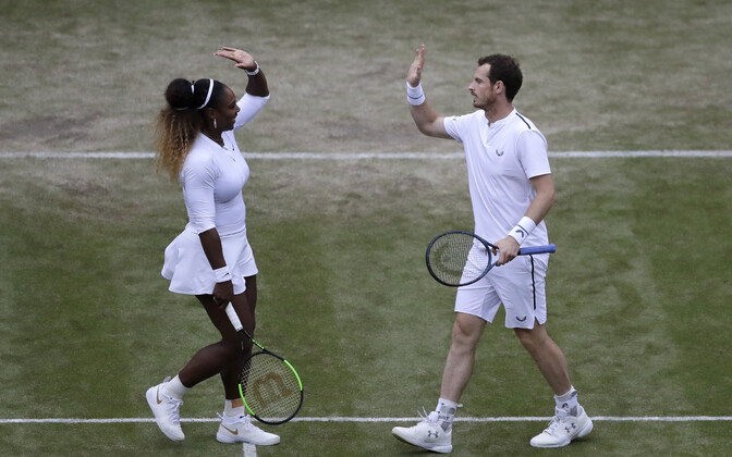 Serena Williams ja Andy Murray