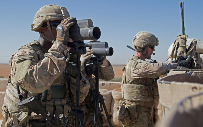 USA sõjaväelased Süürias.