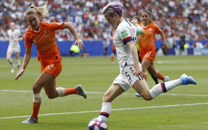 Naiste jalgpalli MM-finaal USA - Holland