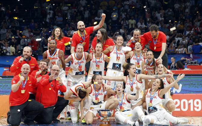 Hispaania naiste korvpallikoondis