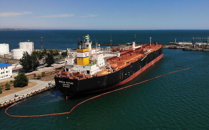 Tanker Wisdom Venture Odessas.