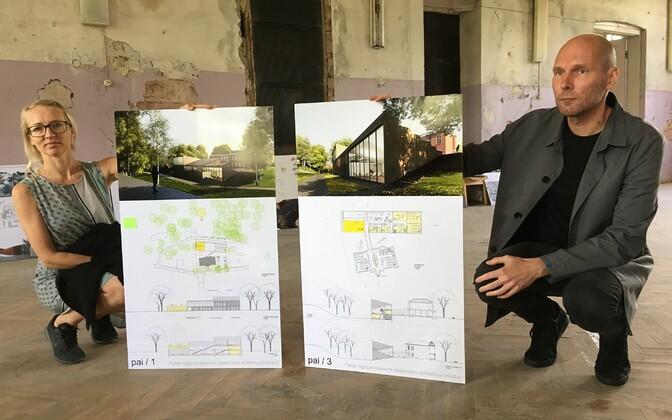 Salto Arhitektide arhitektid Maarja Kask ja Ralf Lõoke ning võidutöö