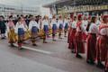 Шествие Праздника песни и танца.