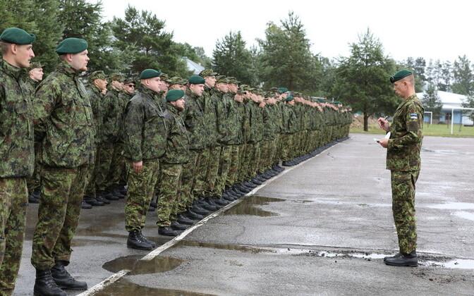Вируский пехотный батальон. Иллюстративная фотография.