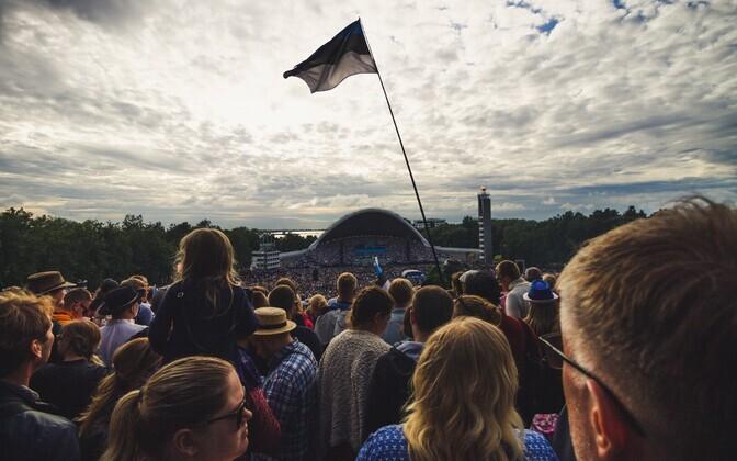 XXVII Song Festival in Tallinn. July 2019.