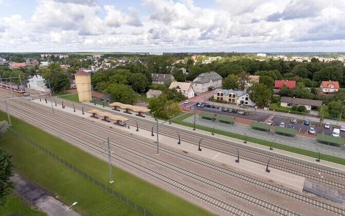 Проект реконструкции Кейлаского вокзала.