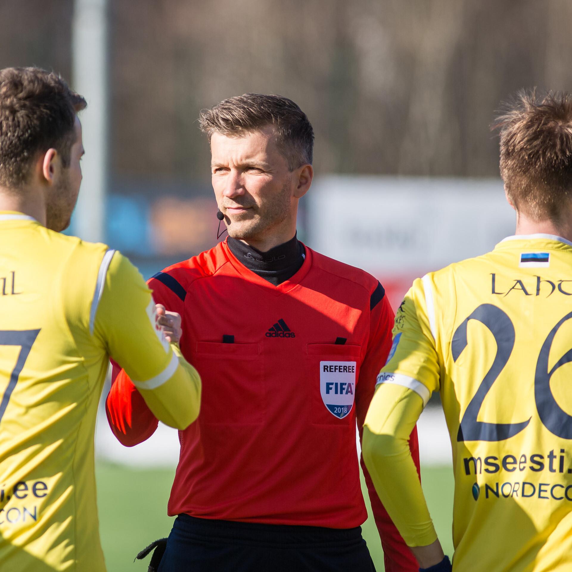 461664956fc Eesti jalgpallikohtunik määrati ametisse U-19 EM-finaalturniirile | Jalgpall  | ERR