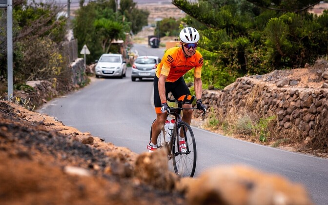 Rait Ratasepp Fuerteventural treenimas