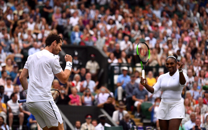 Andy Murray ja Serena Williams