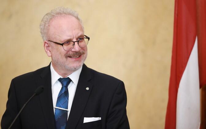 Latvian President Egils Levits